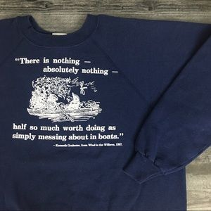 1990s Wind In The Willows Book Crewneck